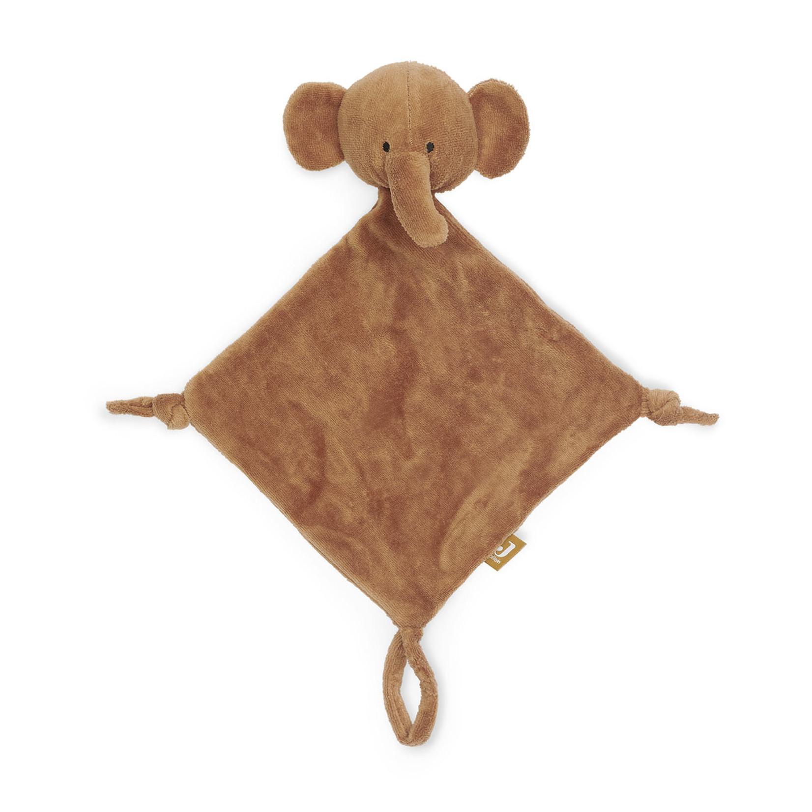 Jollein Jollein Knuffeldoekje Elephant Caramel