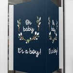 Minimou Minimou Geboortebord 'Oh baby it's a boy' Floral