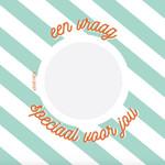 Minimou Minimou Kraskaart met eigen boodschap 'Vraag speciaal voor jou'