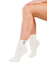Soxs Vrouw off white wol laag model miky way label maat 37-41