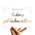 qoutes: a story yet to be written