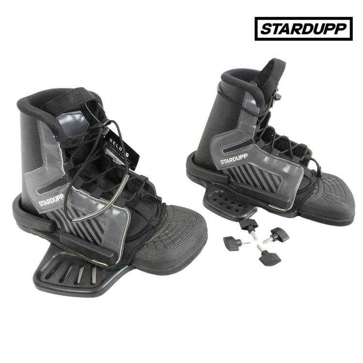 Stardupp Stardupp Pitt wakeboard binding jeugd zwart