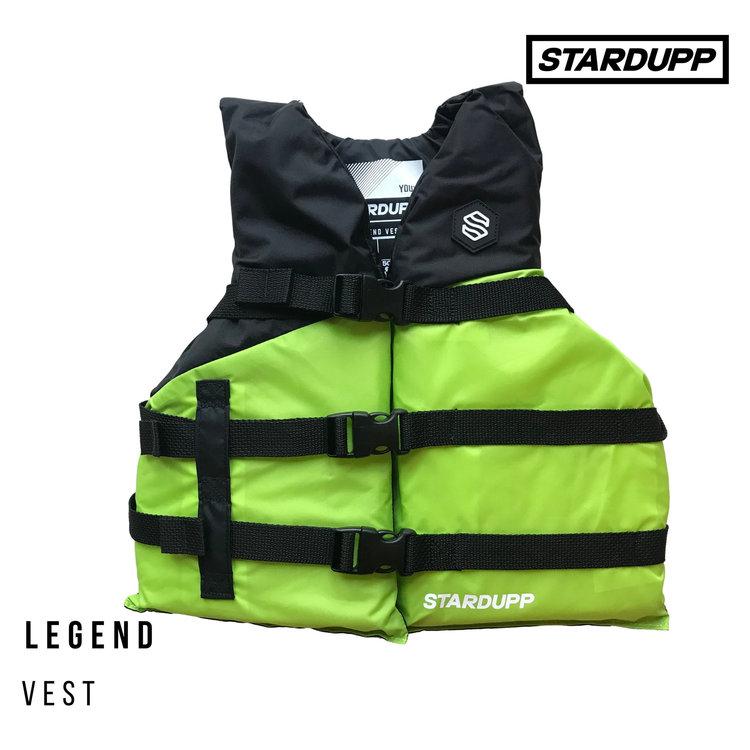 Stardupp Stardupp Legend Vest Youth Green