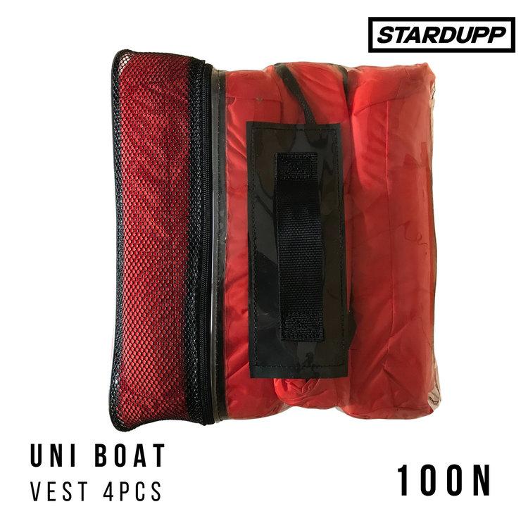 Stardupp Stardupp Uni Boating Vest Pack 4pcs