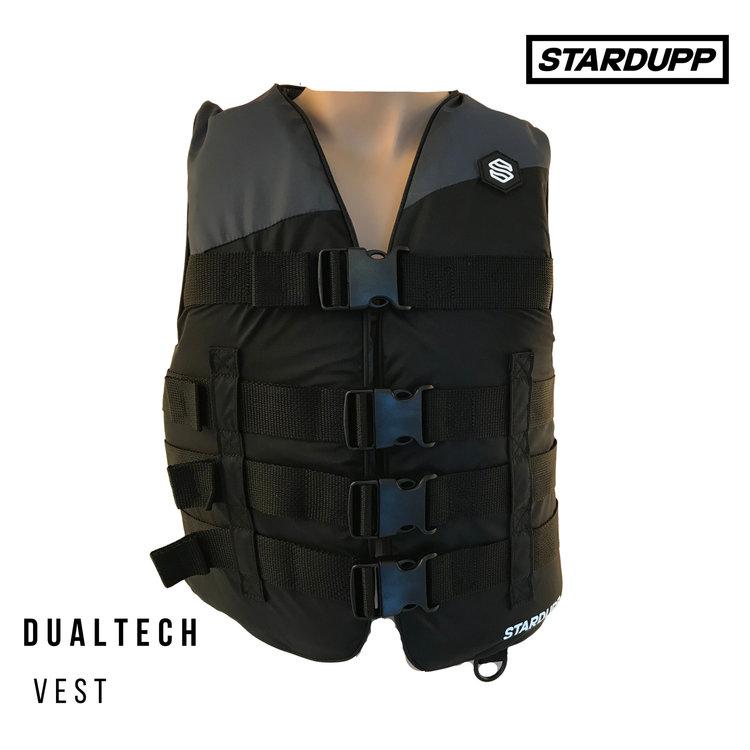 Stardupp Stardupp Dualtech Vest Zwart