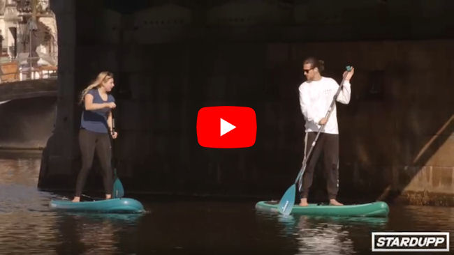 Stardupp SUP Boards video - suppen amsterdam - suppen op amstel