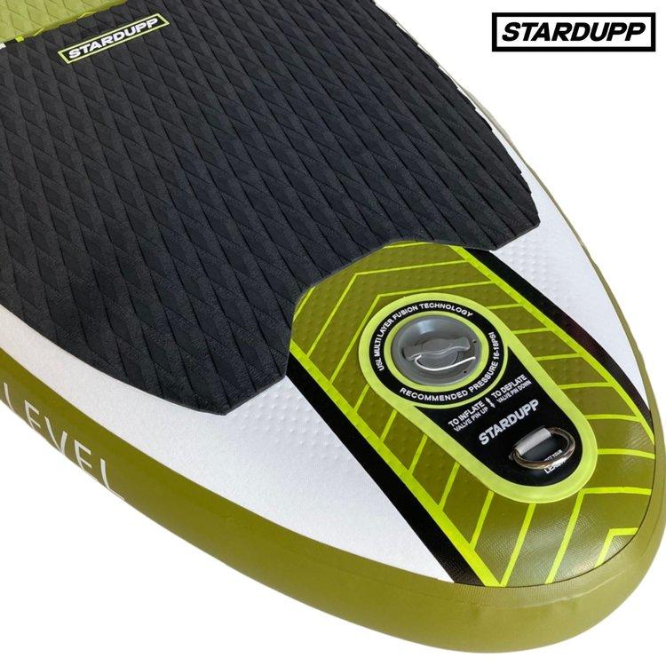 Stardupp Stardupp Level SUP Lime 10'0 Set - Allround SUP Board