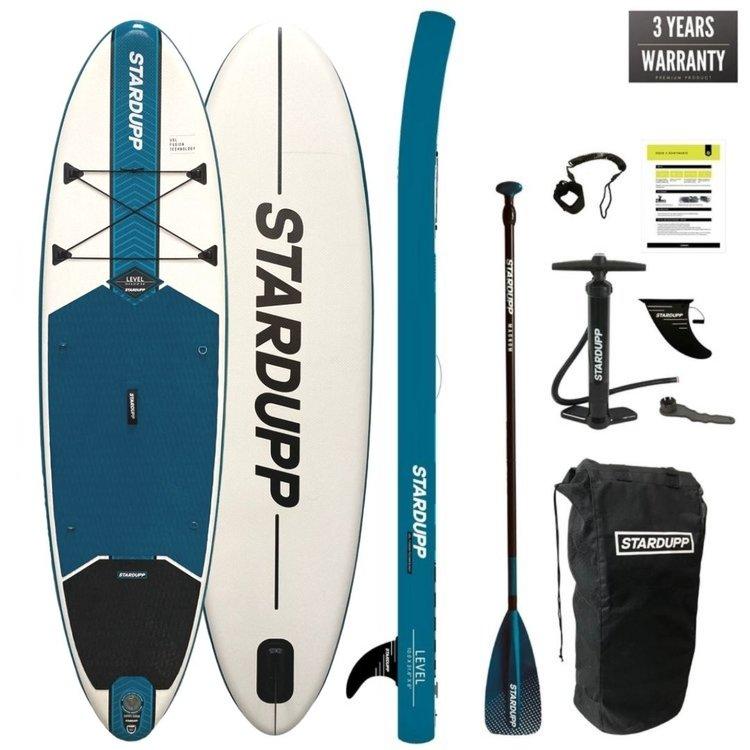 Stardupp Stardupp Level SUP Blue 10'0 Set - Allround SUP Board