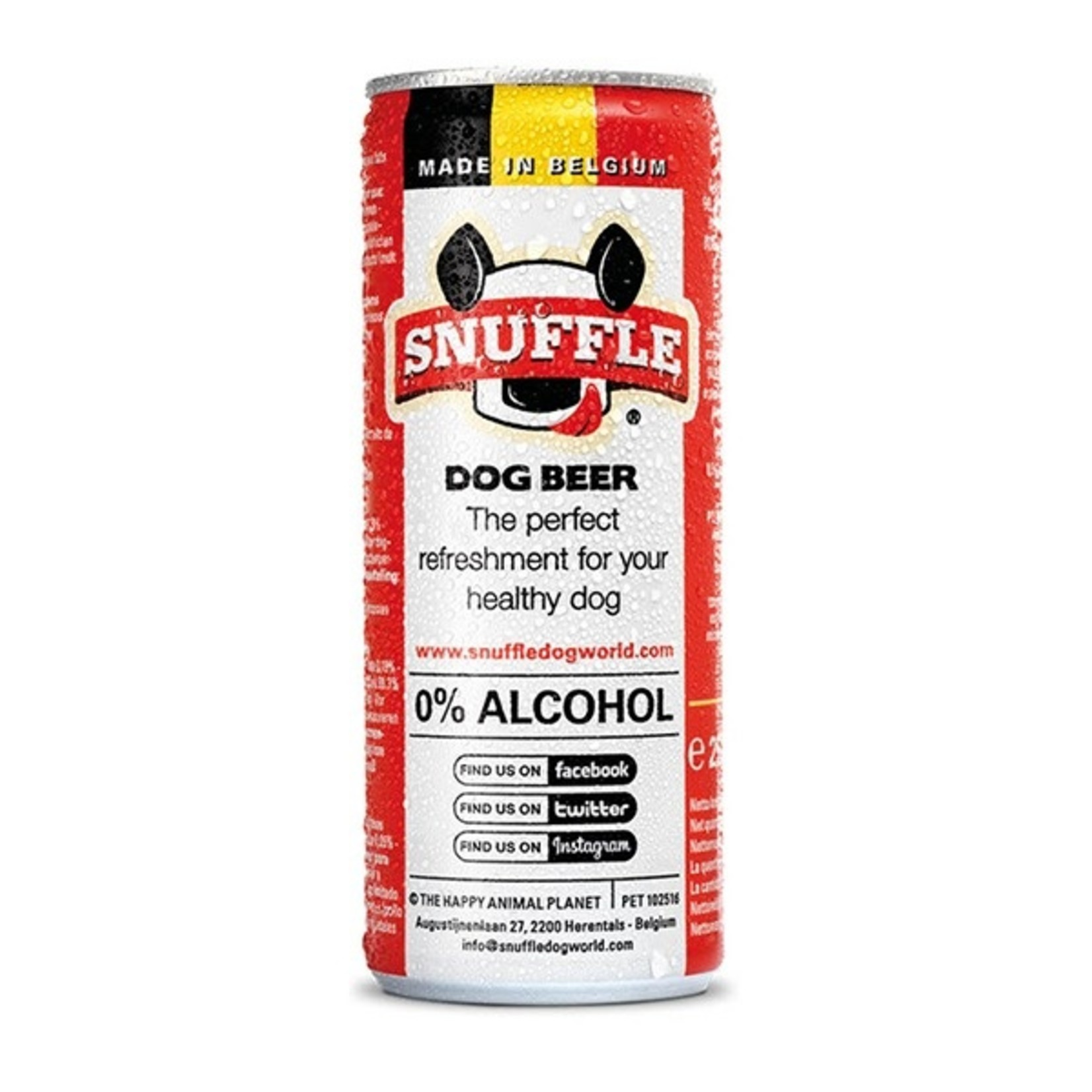 Snuffle Snuffle Beer Rund Can