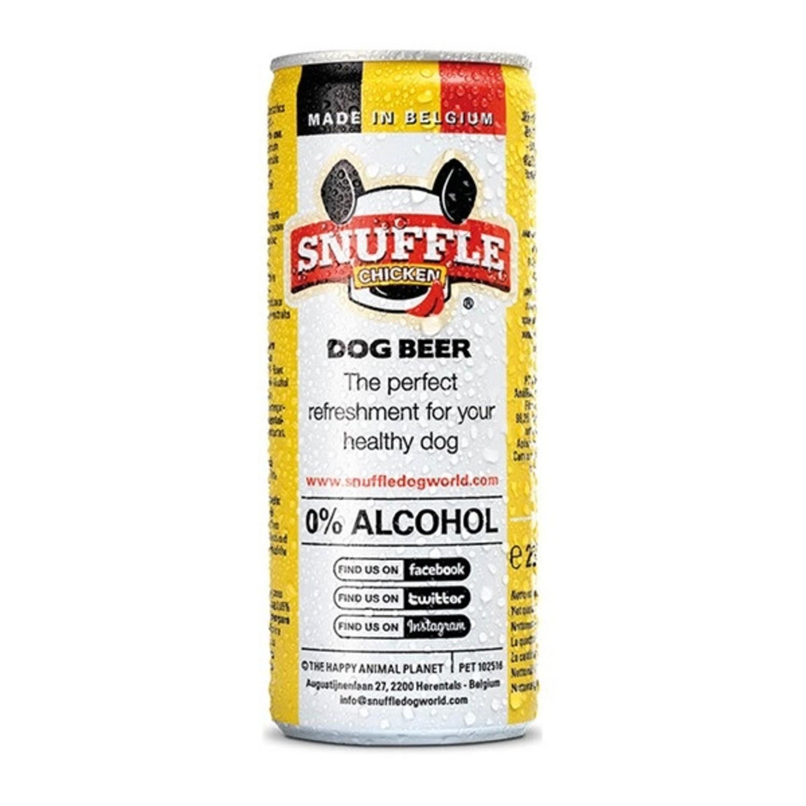 Snuffle Snuffle Beer Kip Can