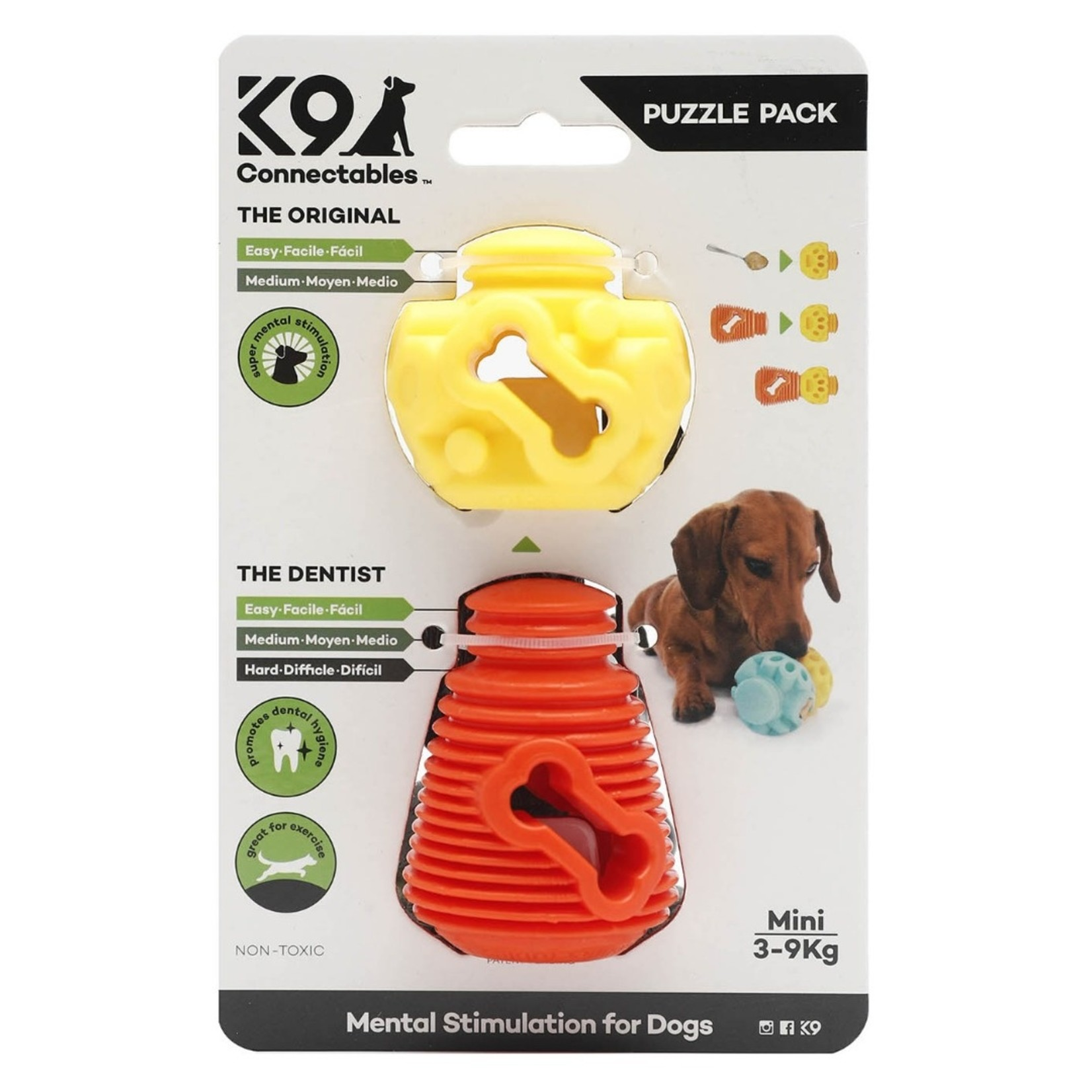 K9 Connectables Puzzle Pack Mini