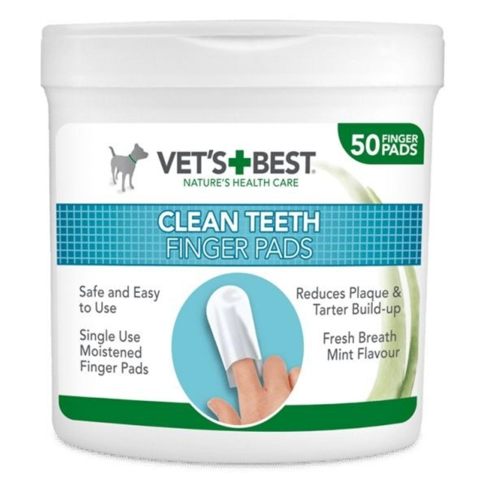 Vet's Best Vet's Best Clean Teeth Finger Pads5,19