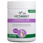 Vet's Best Vet's Best Clean Ear / Eye Wipes Hond