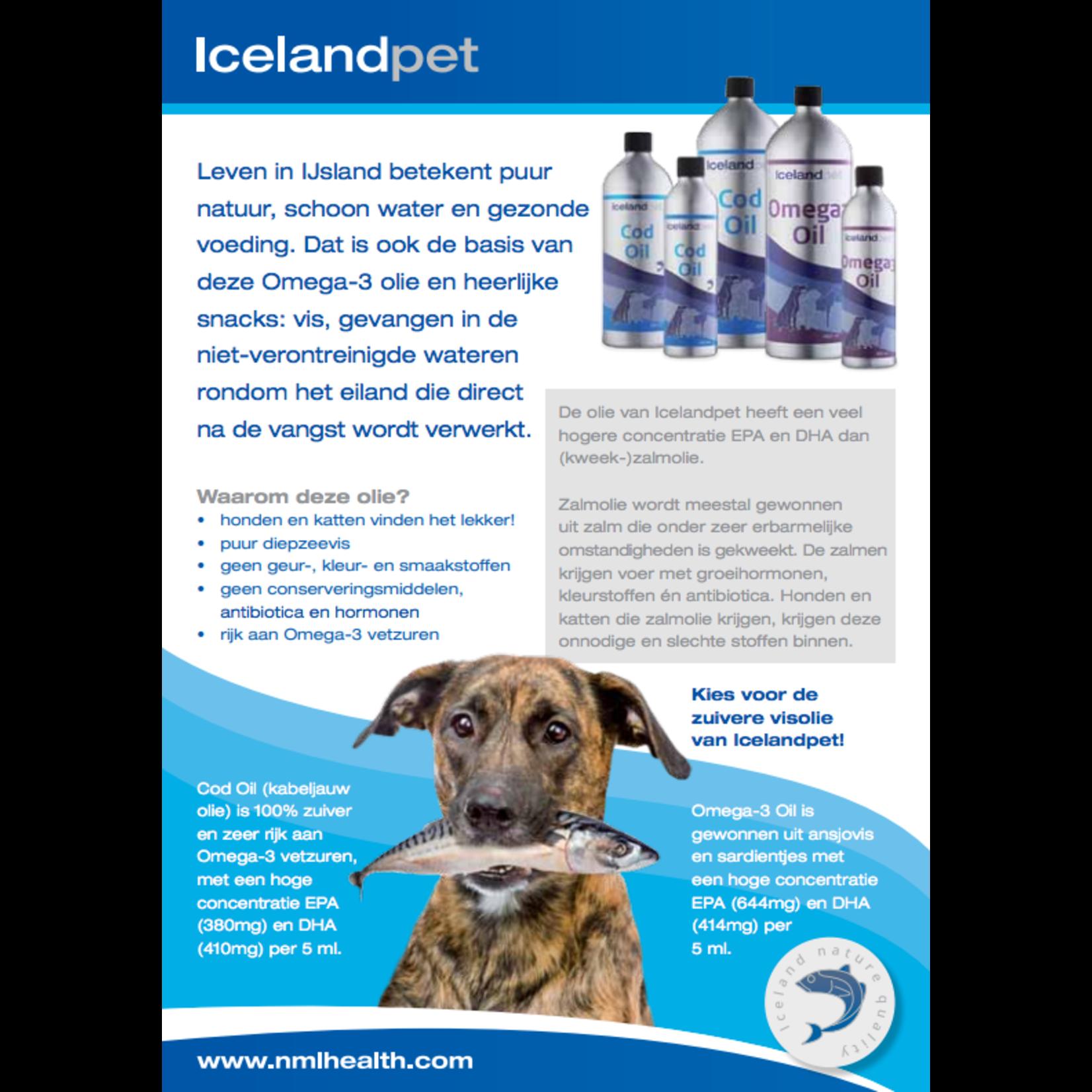 IcelandPet Icelandpet Omega-3 Oil