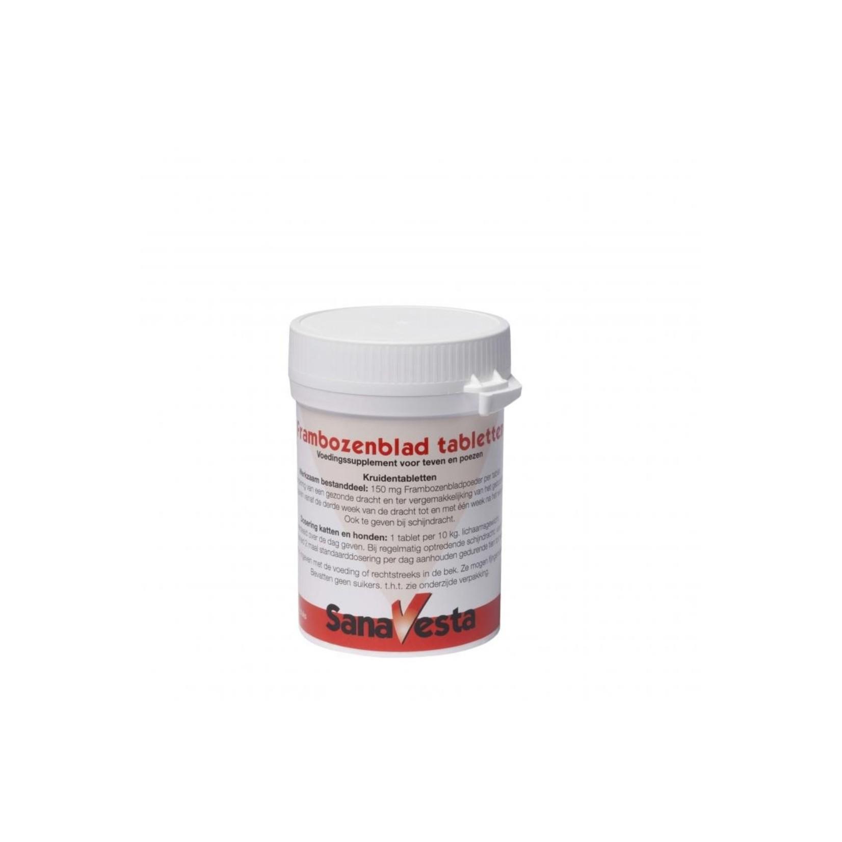 Frambozenblad Tabletten