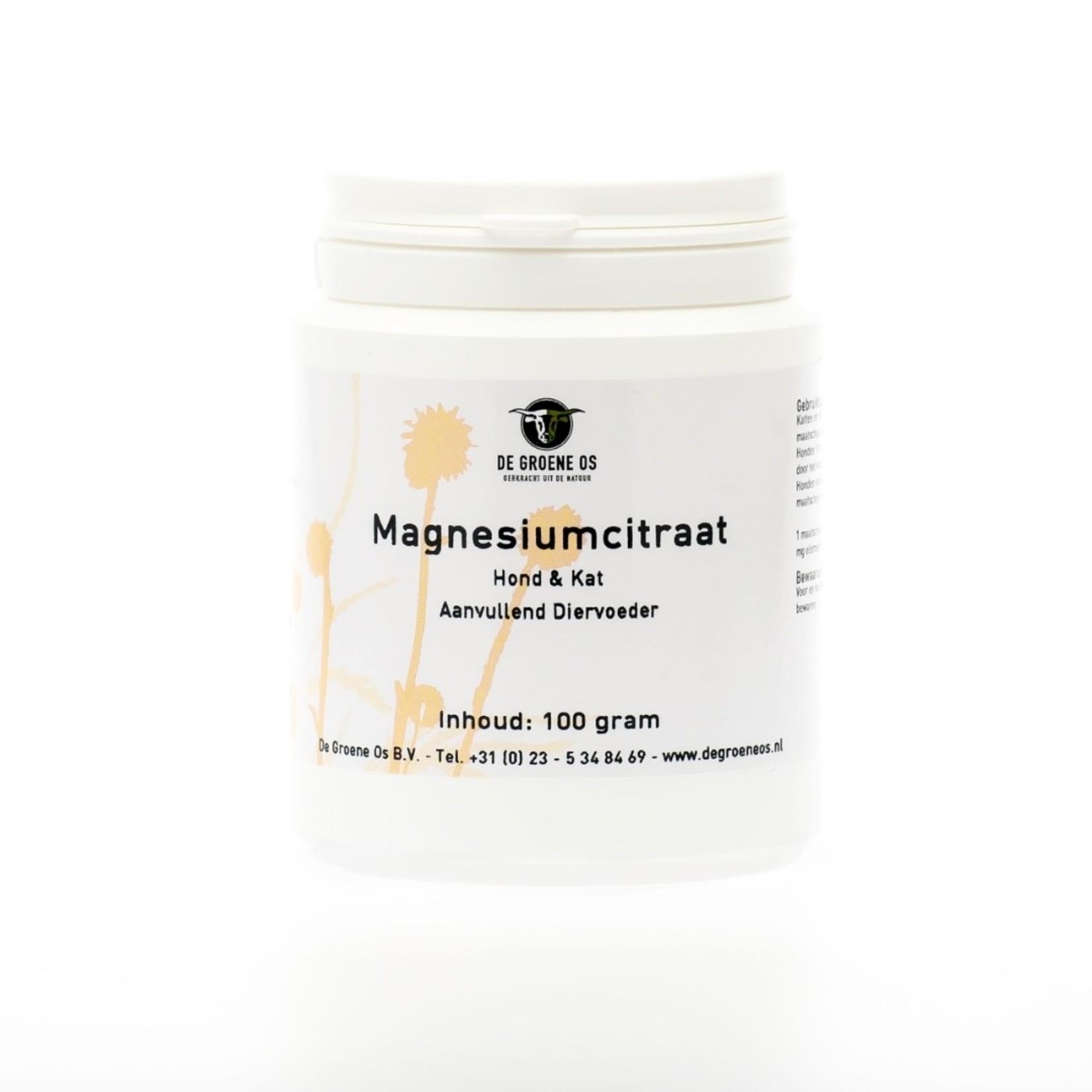 De Groene Os Magnesium Citraat