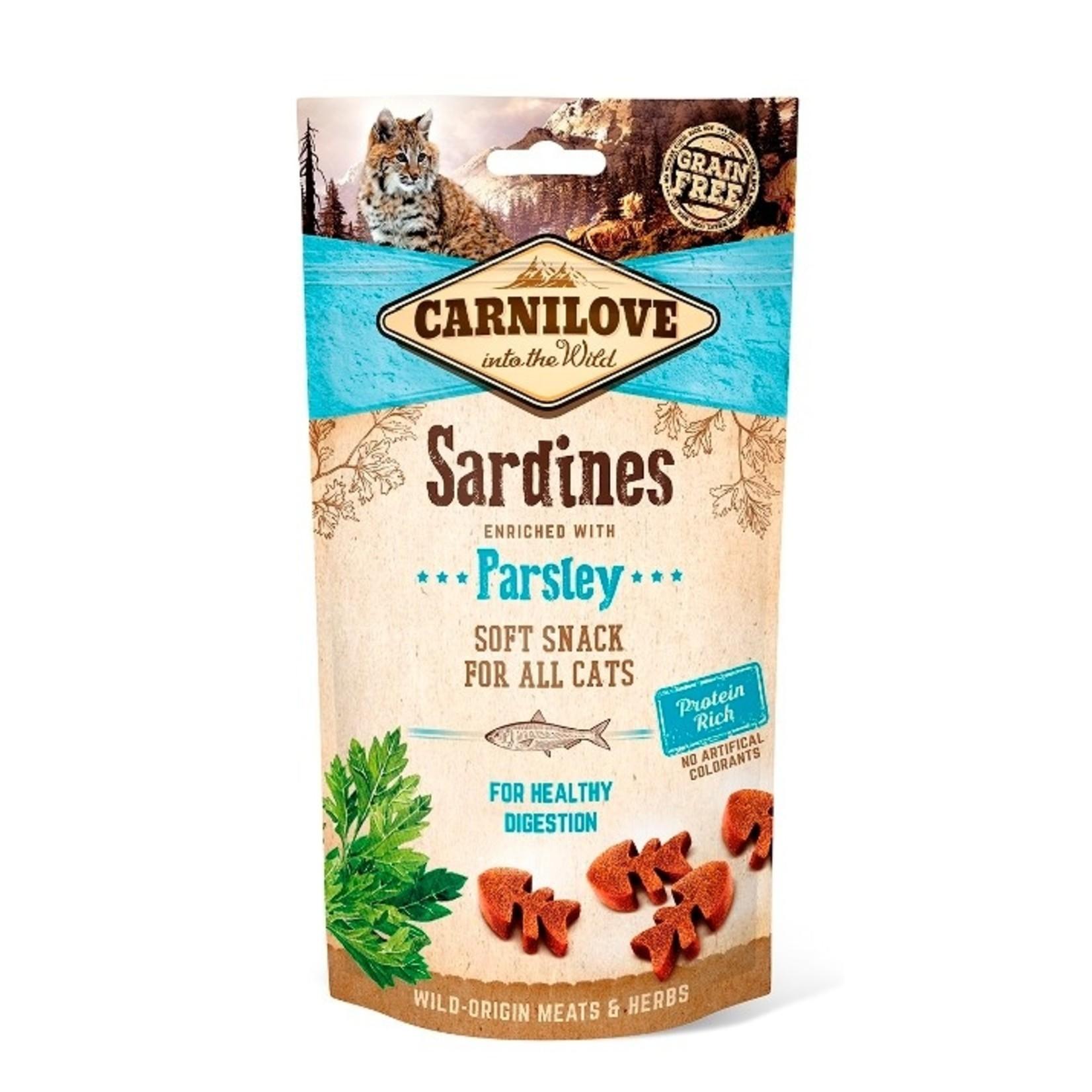 Carnilove Soft Cat Snack Sardines Parsley