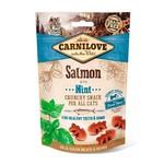 Carnilove Crunchy Cat Snack Salmon Mint