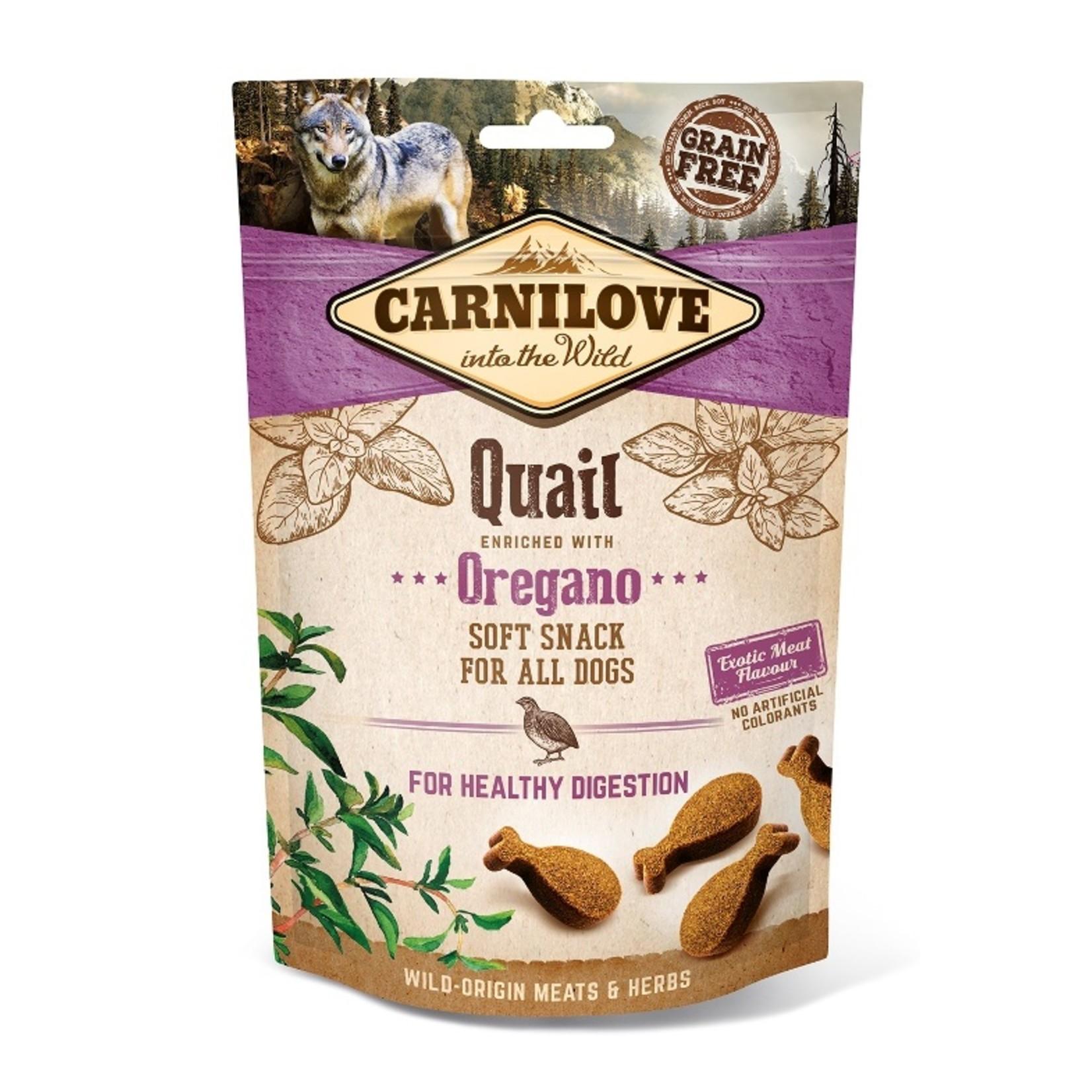Carnilove Soft Snack Quail with Oregano