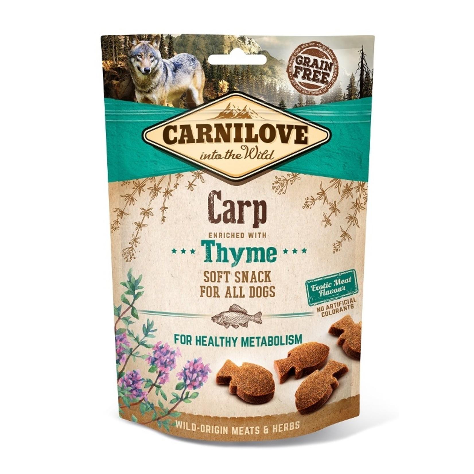 Carnilove Soft Snack Carp & Thyme