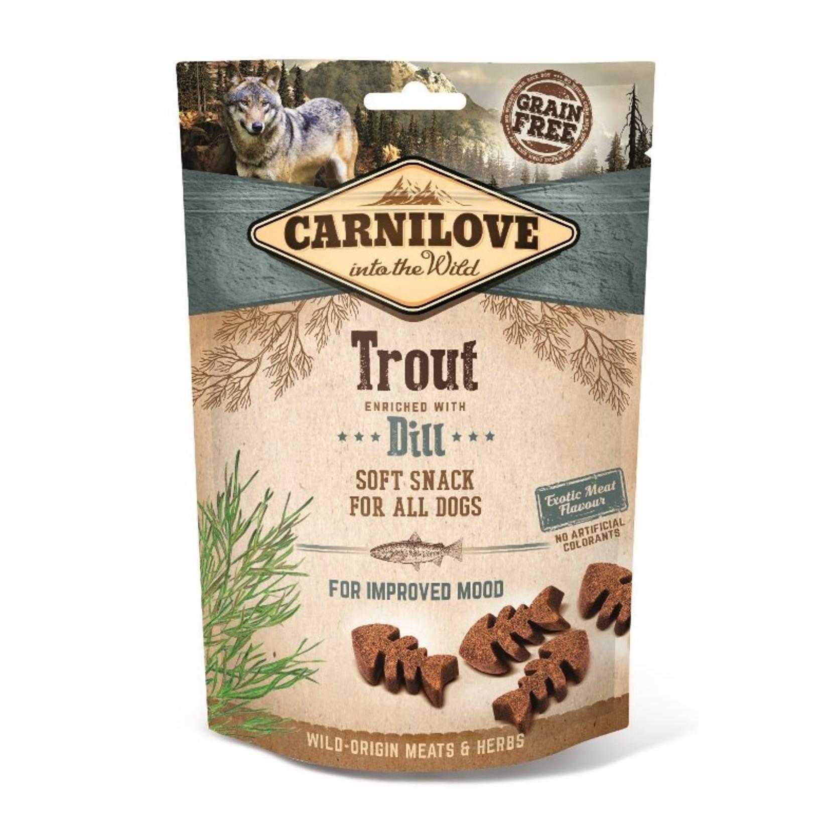 Carnilove Soft Snack Trout & Dill