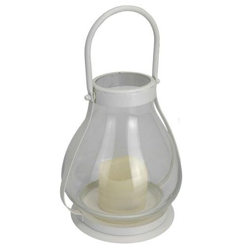 Lantaarn met LED-kaars