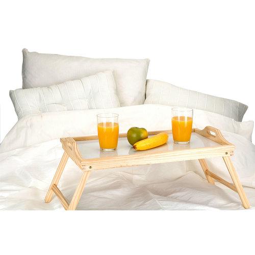 Home & Styling Houten dienblad voor op bed