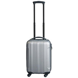 Ceruzo handbagage koffer ABS zilver