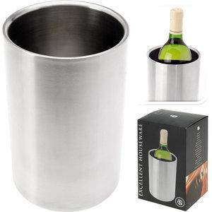Excellent Houseware RVS Dubbelwandige wijnkoeler