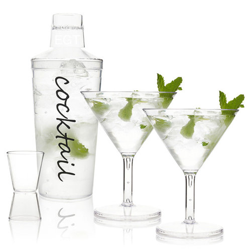 Cocktail mixer set 4 delig