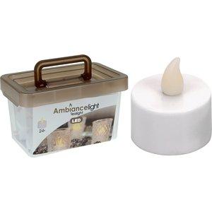 Ambiance light Box met 24 LED-Theelichtjes LED