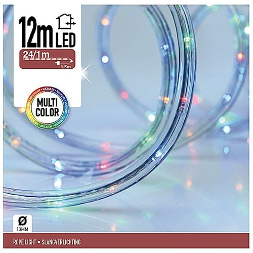 DecorativeLighting LED Lichtslang 12 meter multicolor