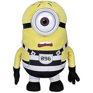 Despicable Me3 Pluche Knuffel Minions Jail Carl 37cm