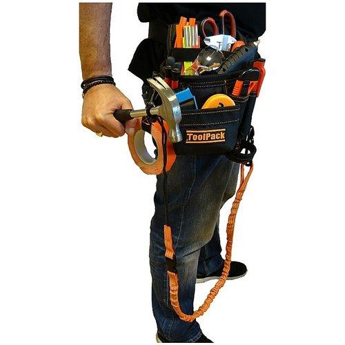 ToolPack Gereedschapsgordel met elastische veiligheidslijn