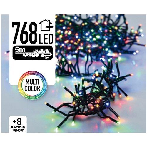 DecorativeLighting Clusterverlichting 768 LED 5.5m multicolor