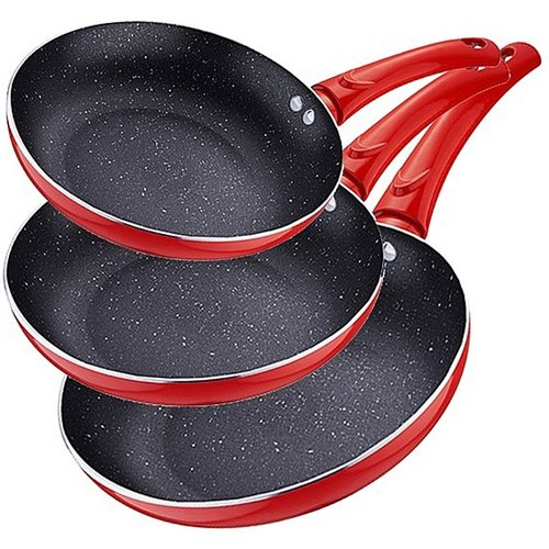 Renberg Koekenpannenset rood