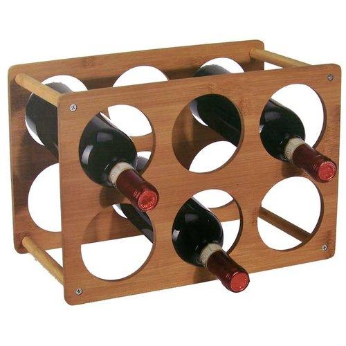 Wijnrek voor 6 flessen