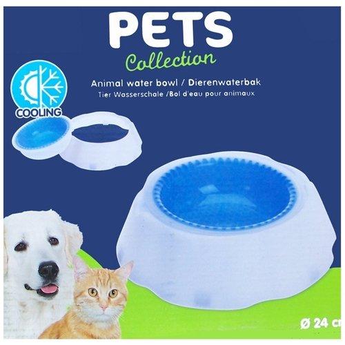 Pets Collection Dierenwaterbak met koelfunktie - 24cm