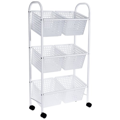 Bathroom Solutions Badkamer trolley met 6 manden
