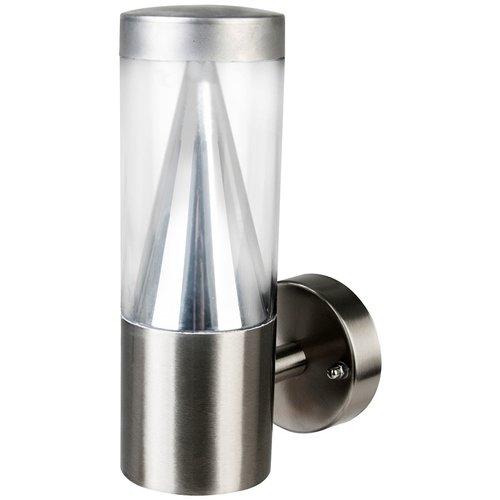 I-Watts Outdoor LED Wandlamp - RVS