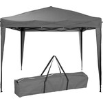 Ambiance Easy-up Partytent - 3x3m - Opvouwbaar - Grijs