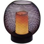 Home & Styling Tafellamp - draad -  19cm - luxe uitvoering