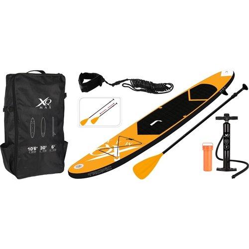 XQ Max SUP Board Set - Opblaasbaar - 320x76x15cm - oranje