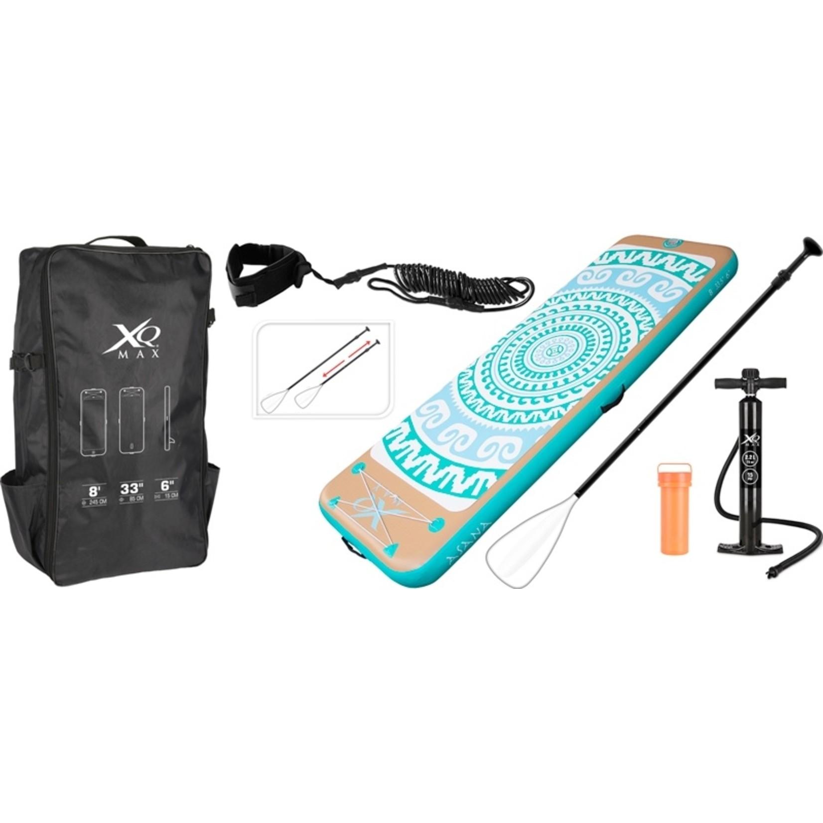 XQ Max Yoga Supboard - opblaasbaar - 245x85x15 cm