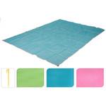 ProBeach Zandvrije Strandmat - blauw