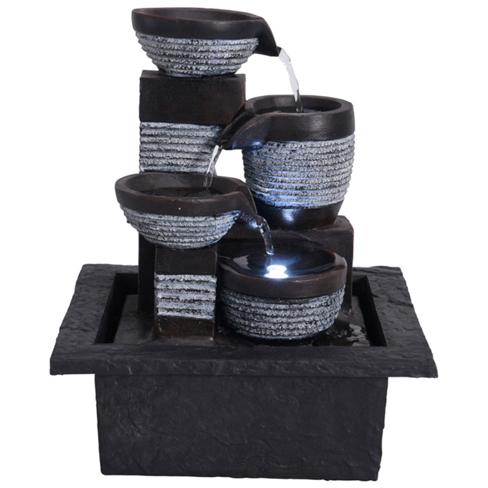 Waterfontein LED - modern