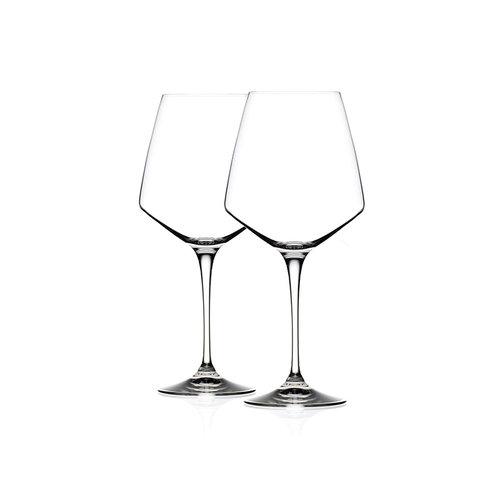 Bergner Masterpro Witte Wijnglazen 390ml - Kristalglas - 2 stuks