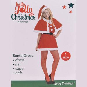 Holly Jolly Kerstvrouwpak- 4-delig