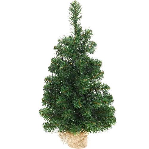 Kerstboom 60cm - 25 warm witte led lampjes