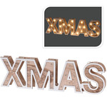 Home & Styling XMAS - houten letters - 38cm - 25 LED